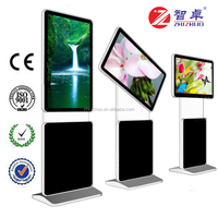 55 inch HD TFT indoor type interactive digital signage with motion sensor