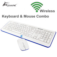 Ultra Thin Arabic wireless computer Keyboard and mouse combo