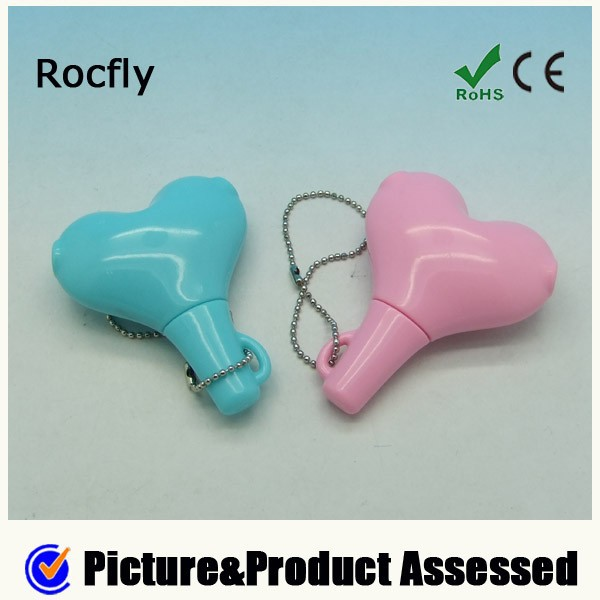 3.5 mm Heart Shaped Audio Splitter for Earphone headphone Music promotion gift set