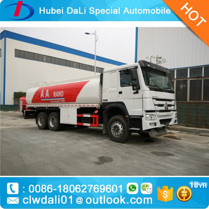 25000L car fuel tank dispensing truck for petrol HOWO truck