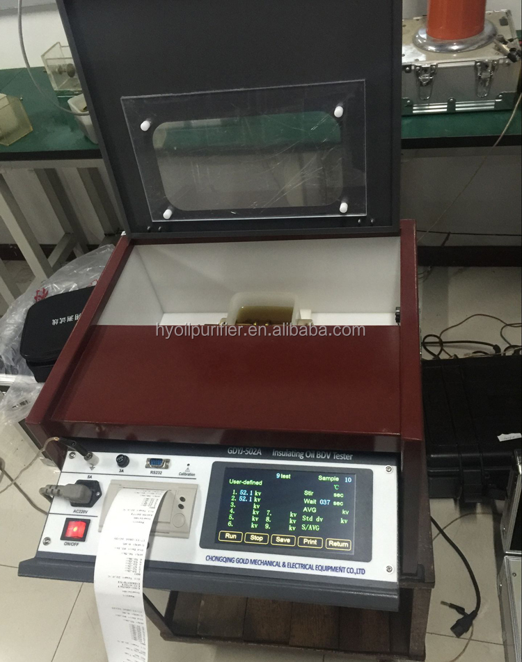 IEC60156 Transformer Oil Dielectric Breakdown Voltage Test Set