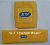 Newest design terry sweatband as your logo