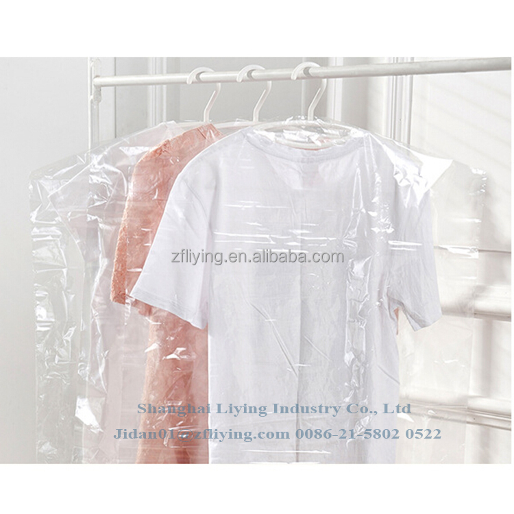 Polythene Garment Bags - Plastic Dry Cleaners Covers