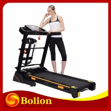 electric motorized 4 in 1 with mp3 player club gym fitness running machine new balance exercise equipment/