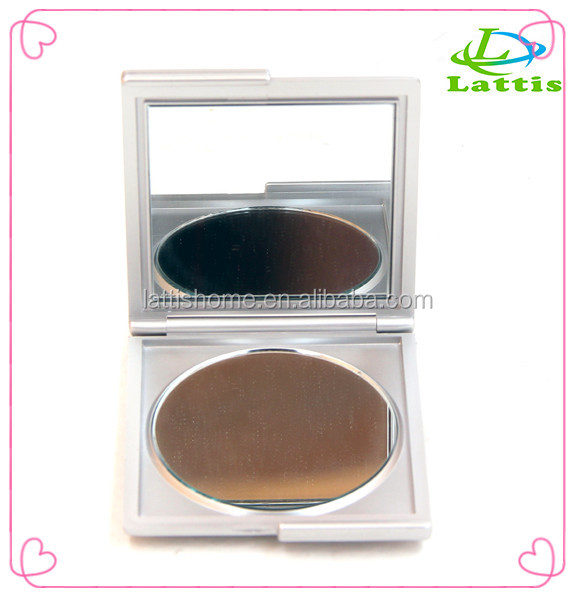 New arrival pocket mirror plastic one-way cheap small cosmetic mirror