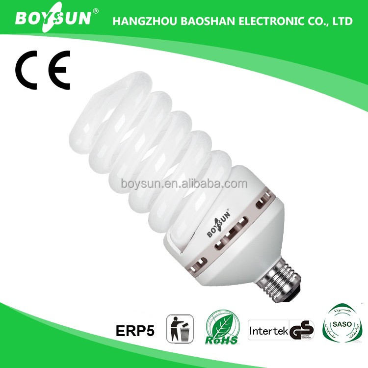 Good Color Rendering 45W 65W 85W 105W Cfl Light Bulb With Price