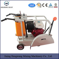 Road cutting machine / HW-400 concretion saw cutter machine with factory price