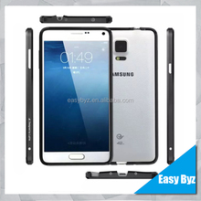 2015 hot selling Luxury Aluminum arc circle metal frame case for Samsung Galaxy Note 4 N9100 bumper