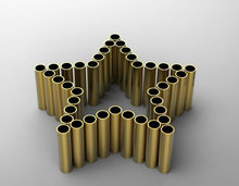 Free cutting Factory price C61900 aluminium brass tube
