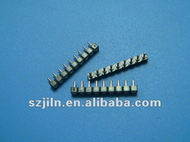 2.54mm*1.9mm low profile SIP Socket connector with straight