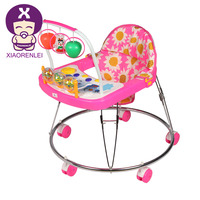 Melody Musical Tube Vintag Esteel Pipe Frame Old Style Baby Walker