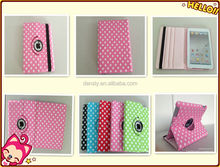 High Qanlity PU Leather Cover for iPad 2 3 4 case