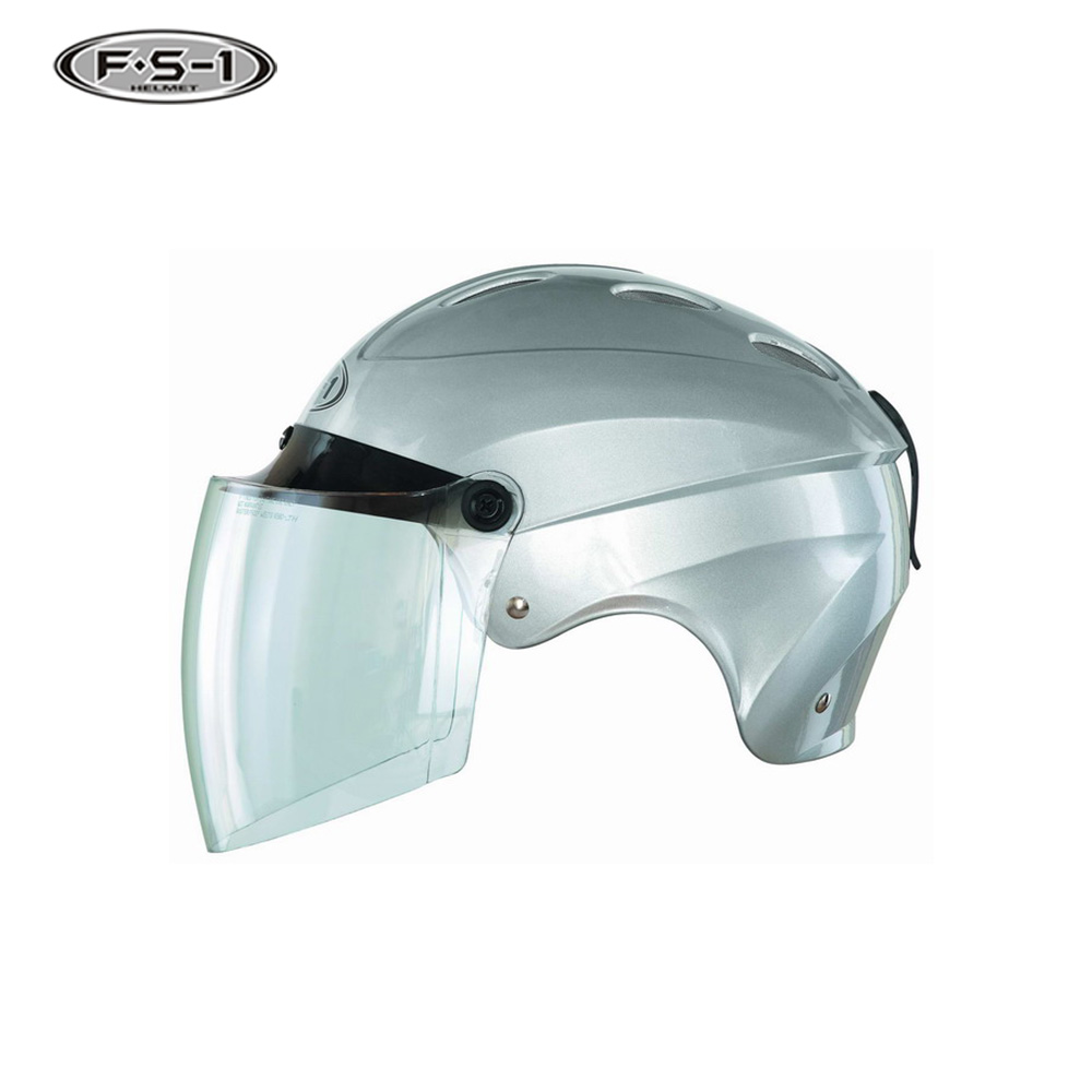 Good selling ABS full face scooter helmets DOT half face moped helmet