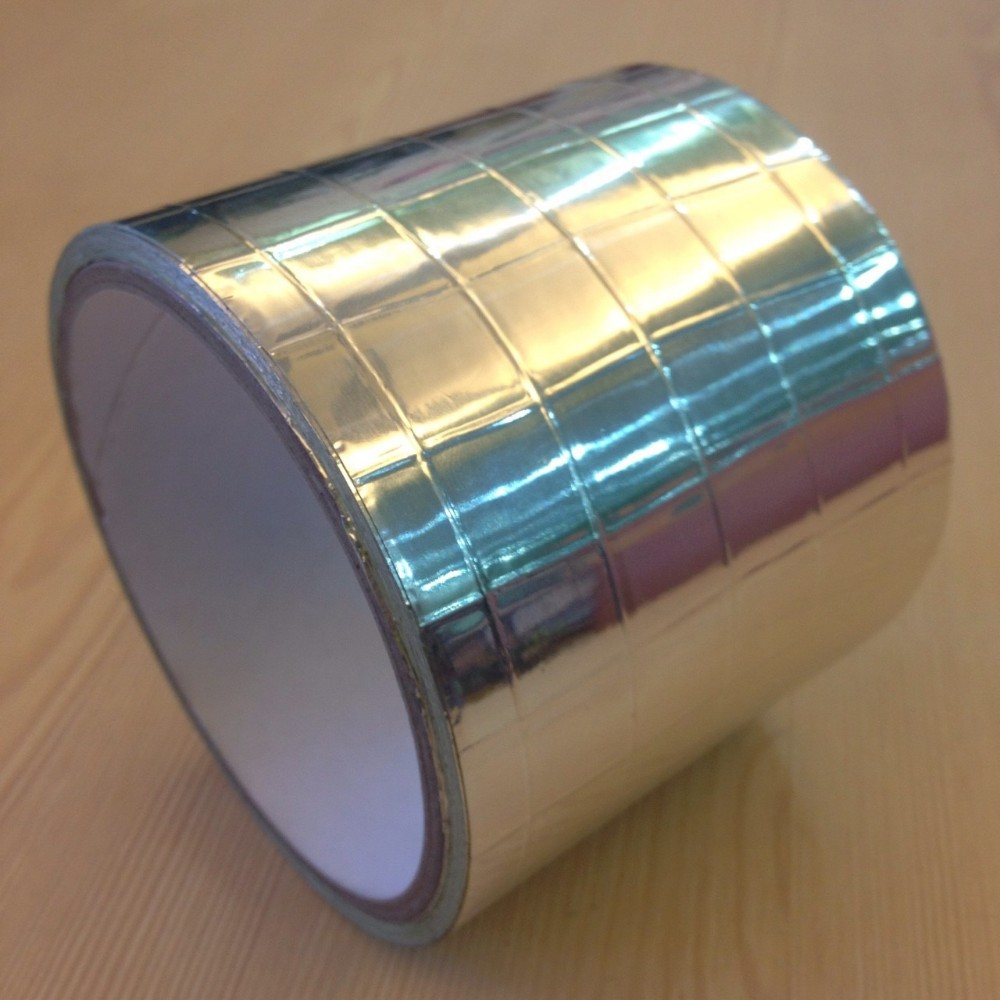 Hot New Product for 2015 fiber glass Reinforce Aluminum foil self adhesive tape for seam sealing, joint bonding