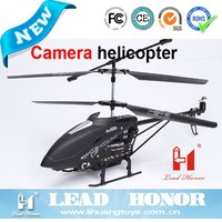 LH1108 rc 3.5-channel metal series helicopter with camera