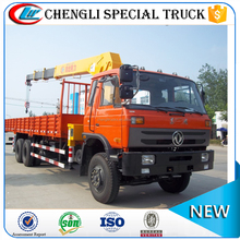 Factory Directly Sale Dongfeng 6x4 10 wheels 8 ton 10ton Boom Truck with Crane Price Cheap for Sale