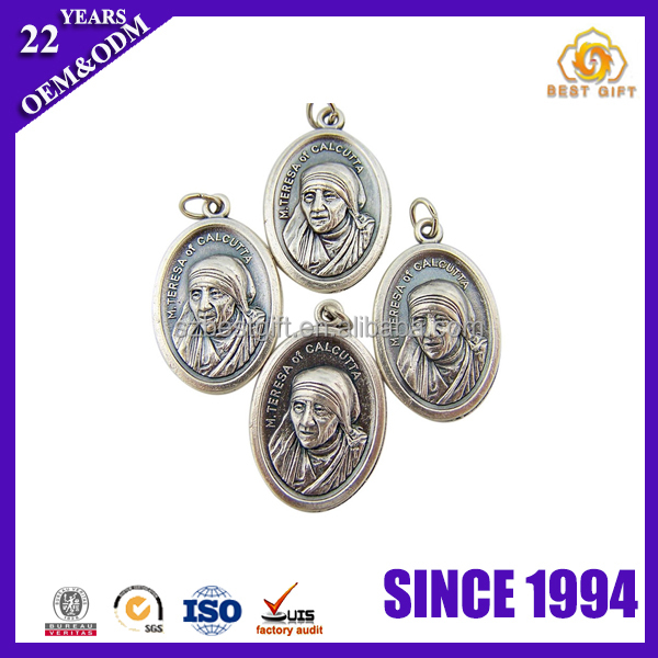 Famous people durable Stainless Steel Souvenir medal