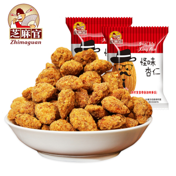 300g Spicy Coated Multi-flavour Almonds Chinese Food Snack Nut