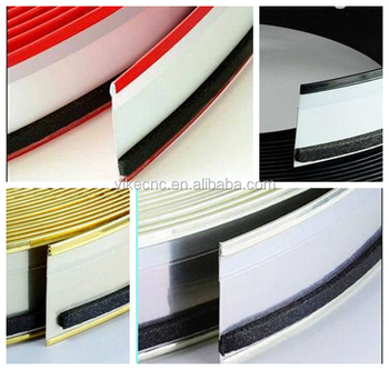 Hot sale red small channel letter signs aluminum trim cap for Channel letter trim cap