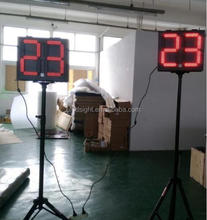 Wireless electronic LED shot clock for sale