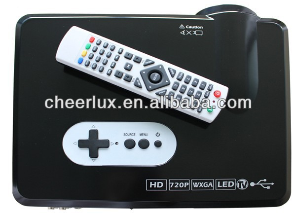 low cost CL720 projector for home theater with led lamp last 50000 hours support 1080p