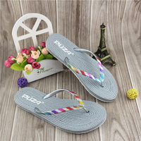 Shining Sequin Lady Summer Flip Flops
