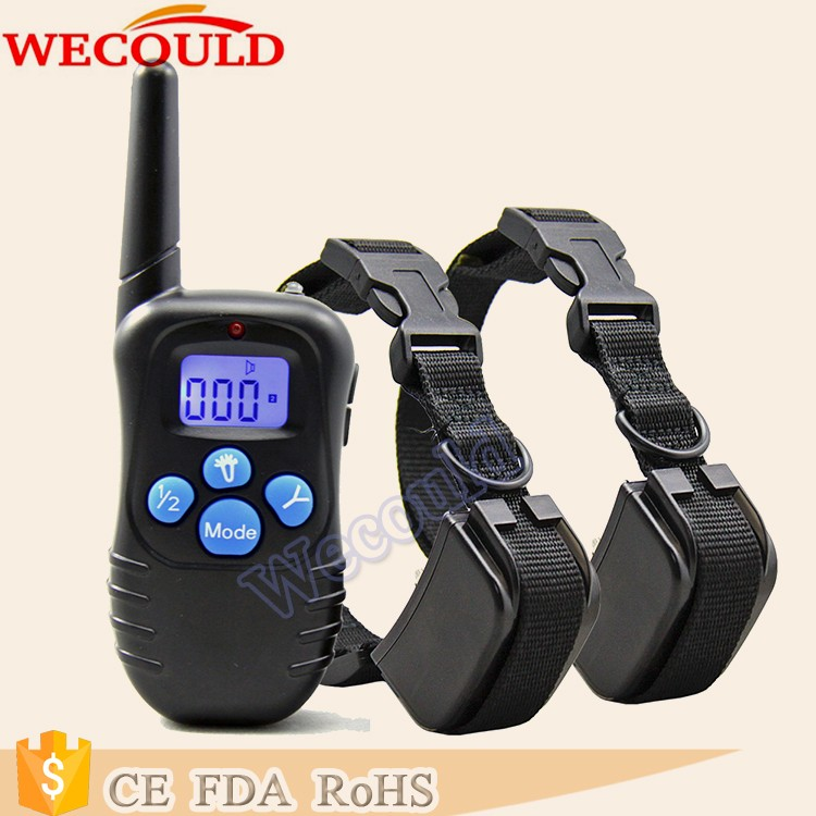 Dog Remote Trainer Electronic Beeper , Bulk Wholesale Multi-Dog Training Collar