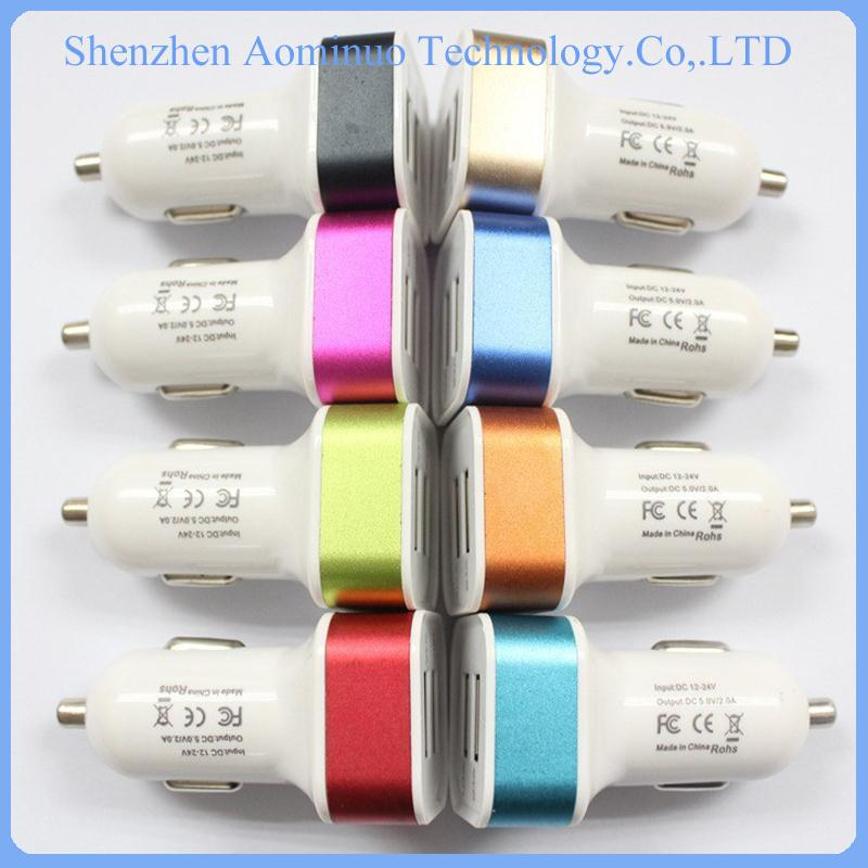 new products 2016 battery charger 10 colors usb car charger for Samsung Portable 12v Car Battery Charger