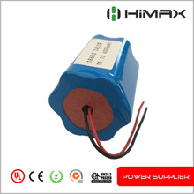 11.1V 5200mAh 18650 li ion battery 18650 battery for medical device