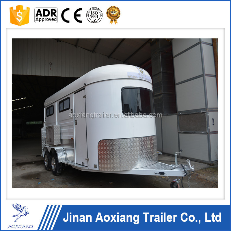 3 horse trailer 3 horse float angle load without kitchen Australian standards