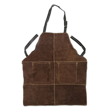 BSCI SEDEX Pillar 4 really factory audit leather apron house work BBQ apron water proof