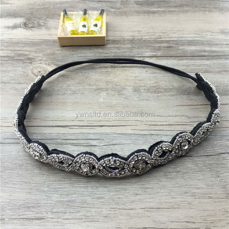 Fashion handmade bling princess acrylic beads choker necklace