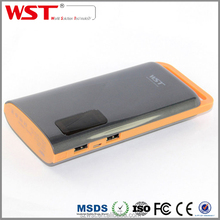 Valentine Gift Travel Portable 13000mah Dual USB Mobine Phone Power Bank