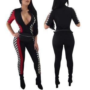 Wholesale designer clothing women sport jump suit