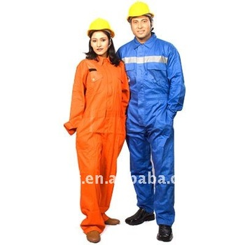 High Vis Protective Coverall Bolier Suits Worker Suits