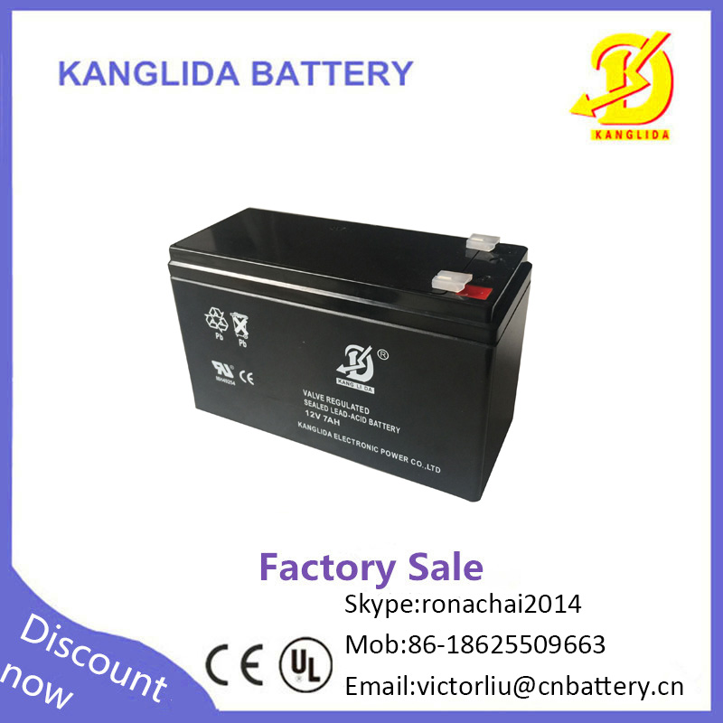 12 volt 12v7ah maintenance free dry charge battery