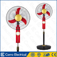 Solar 12v Battery Rechargeable Stand Fan