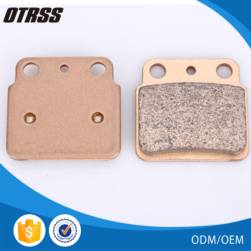 China factory wholesale LT-Z 400 disc rear brake pad for SUZUKI ATV