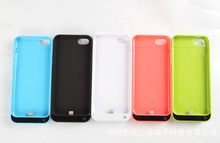 2200mAh External Battery Charging Case Cover Backup for iphone 5 5s 5c