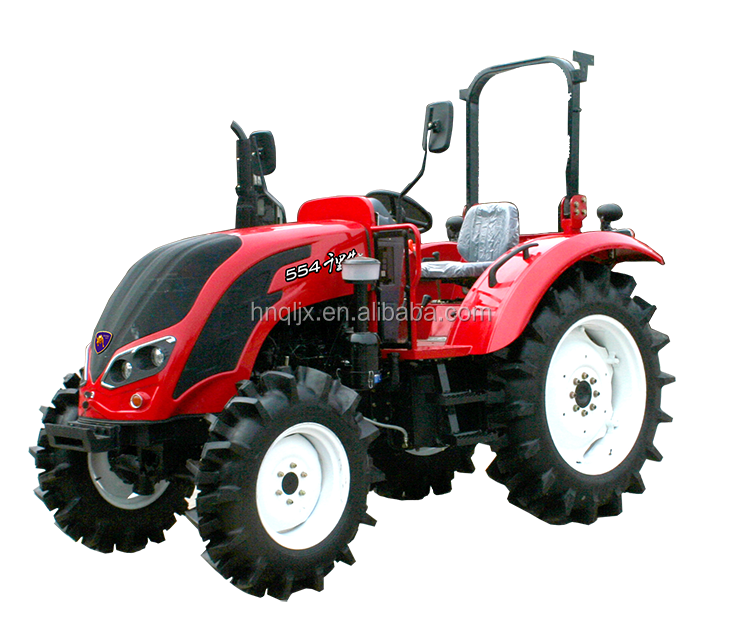 for sale 50hp 4 wheel farm tractor of QLN-504 E-mark approved