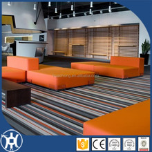 textile line pattern vinyl floor covering for room