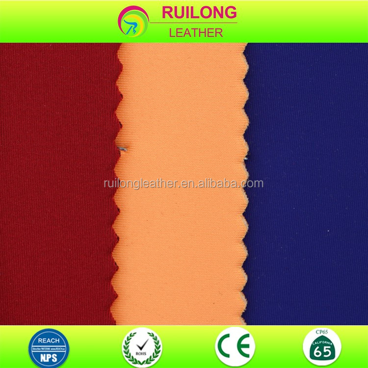 2mm thickness high quality pu leather for wetsuit diving dress leather fabric
