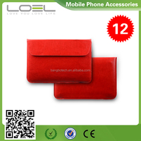 Three colors envelope style cover for macbook air case with button closure B044132(2)