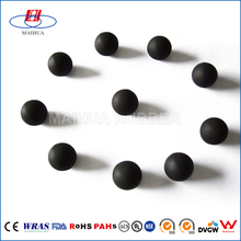 Spare Parts Silicone small black rubber balls