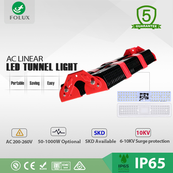 Wholesale outdoor driverless AC Linear LED tunnel light 200w