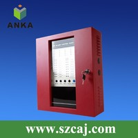 24V Conventional And Addressable 8 Zone Fire Alarm Control Panel