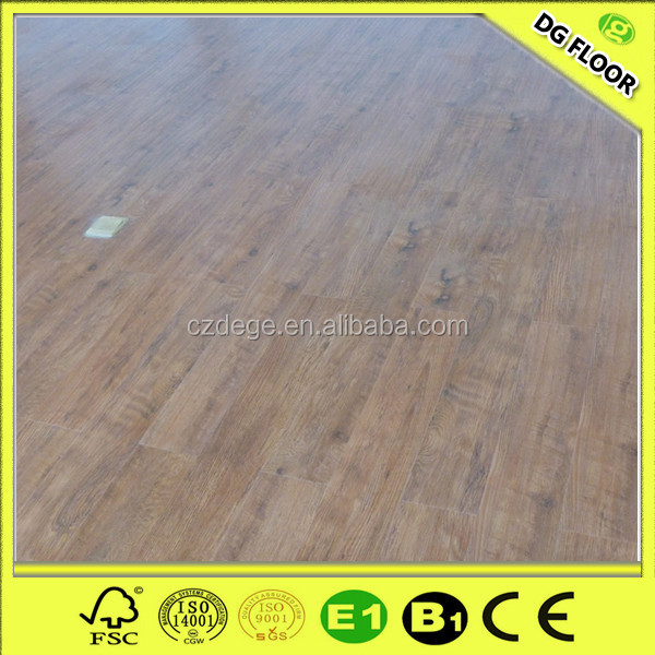 Handscraped Face High Grade Laminate Flooring With Best Price