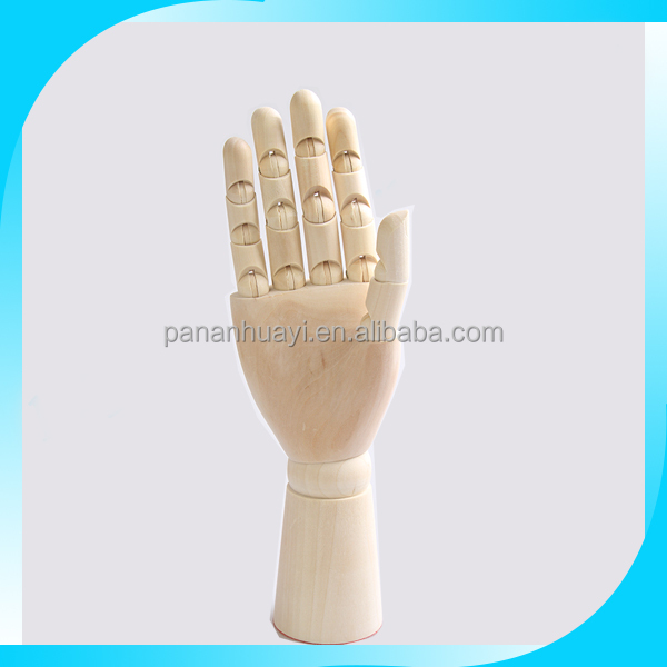 2015 factory direct sale Popular adjustable wooden hands model toys for <strong>Development</strong> of intelligence