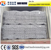 anping haodi gabion box stone cage prices galvanized sheets plastic round welded Direct factory