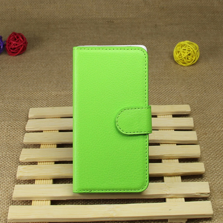 Customized hotsell leather folio case for iphone5